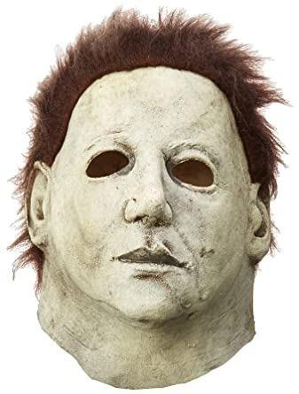 04ca075c Amazon.com: Trick or Treat Studios Men's Halloween 6-The Curse Of Michael  Myers Mask, Multi, One Size: Clothing