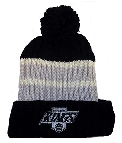 7086843ae89 Image Unavailable. Image not available for. Color  Los Angeles Kings Cuff  Pom Watch Knit CCM Hat ...