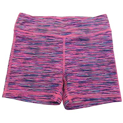 Ideology Big Girls' (7-16) Printed Athletic Shorts Sporty Space Dye Large 14