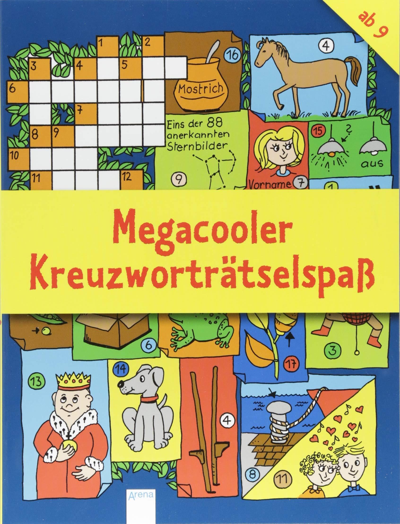 Megacooler Kreuzworträtselspaß Amazon De Deike Press Bücher