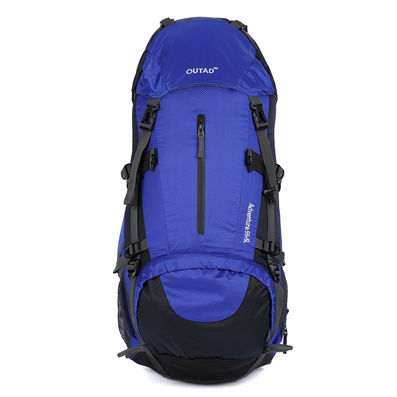 OUTADハイキング用デイパック40l防水内部フレームバックパックハイキングバックパックアウトドアハイキング旅行 B01FCX2RW8 Backpack 8