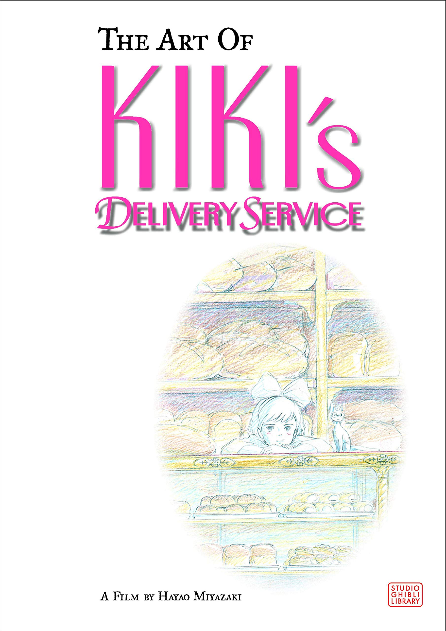 The Art of Kiki's Delivery Service: A Film by Hayao Miyazaki