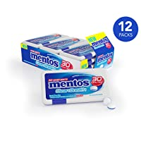 Deals on 12PK Mentos Clean Breath Hard Mints Sugar Free Candy