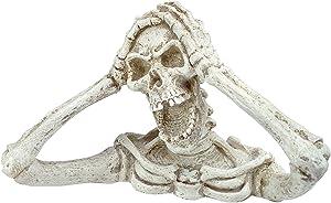 Design Toscano Shriek The Skeleton Medium-Zombie Statue, Multicolor