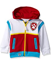 Nickelodeon Boys Paw Patrol Character Costume Hoodie Hooded Sweatshirt - Multi