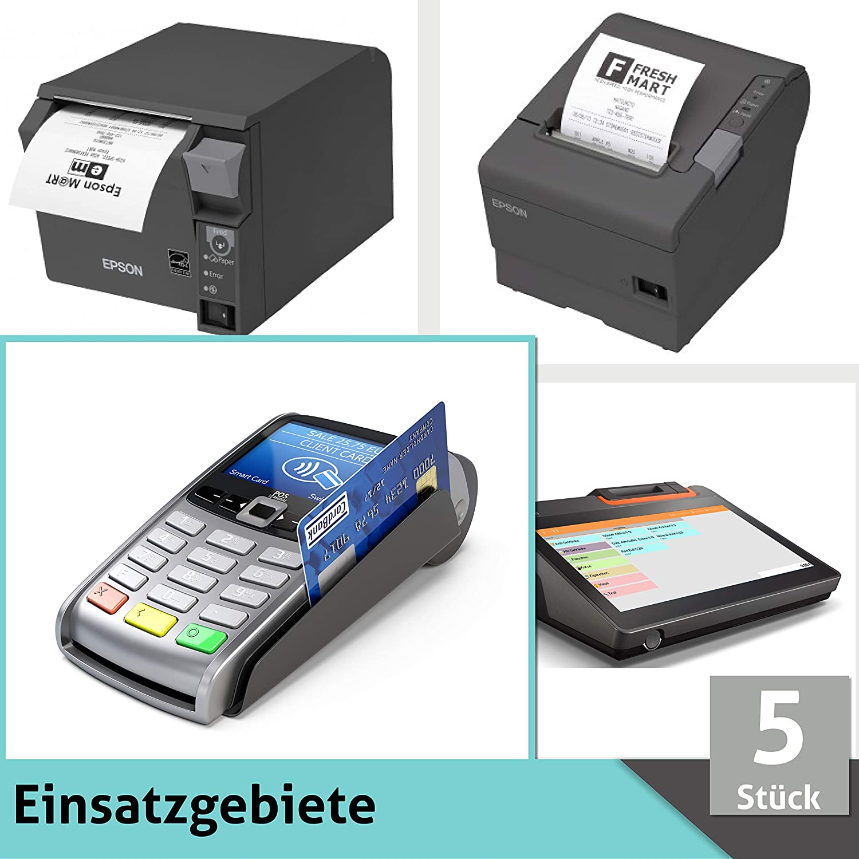 Premium EC Cash Thermorollen mit SEPA Lastschrifttext