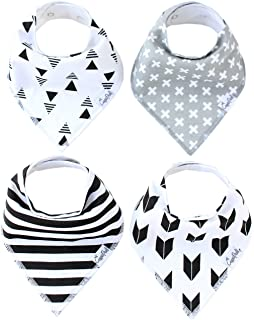 Copper Pearl 4-Pack Bandana Bibs, Shade Set X000TTXZZP