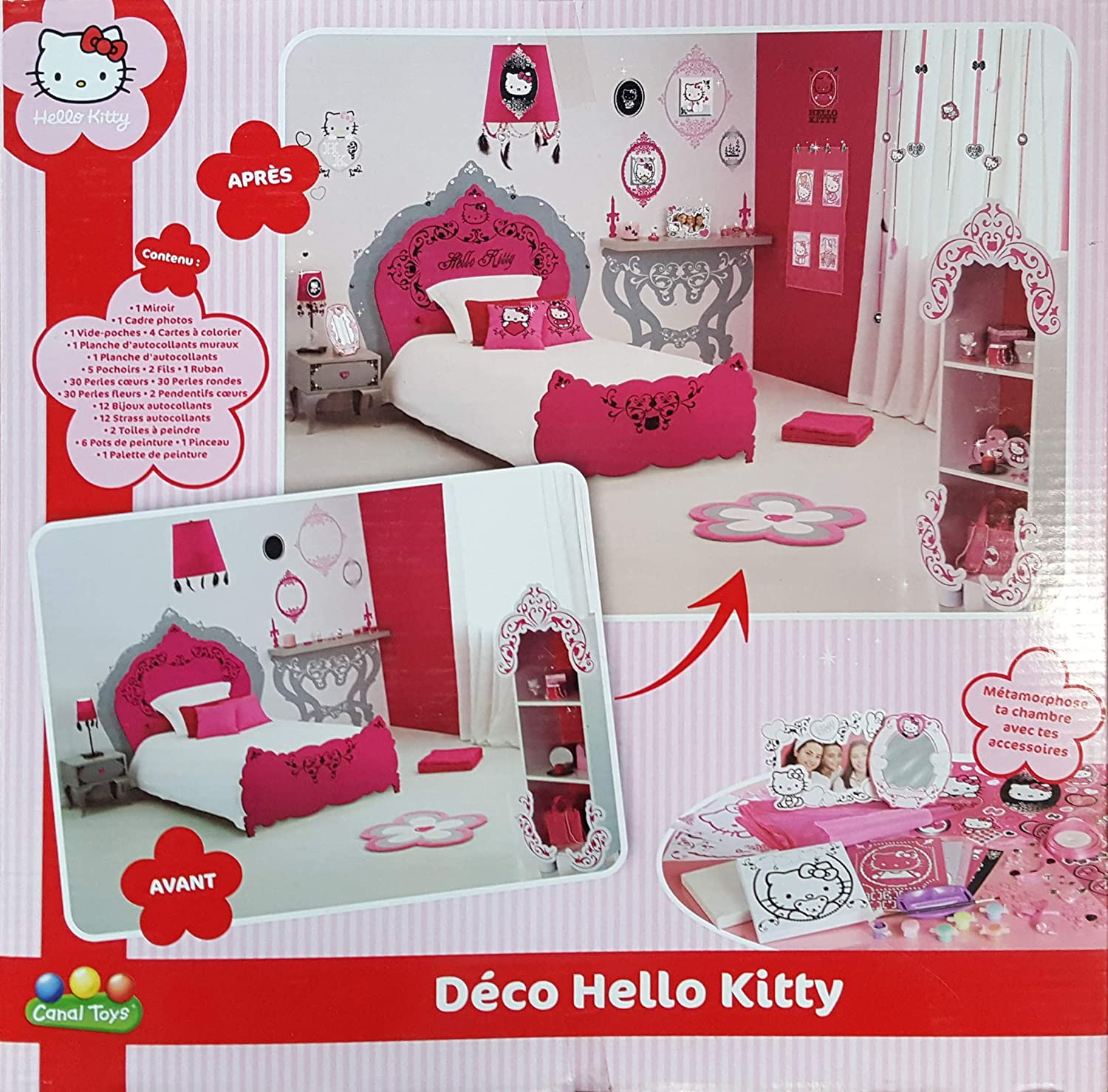 Hello Kitty Deco Kit: Amazon.es: Juguetes y juegos