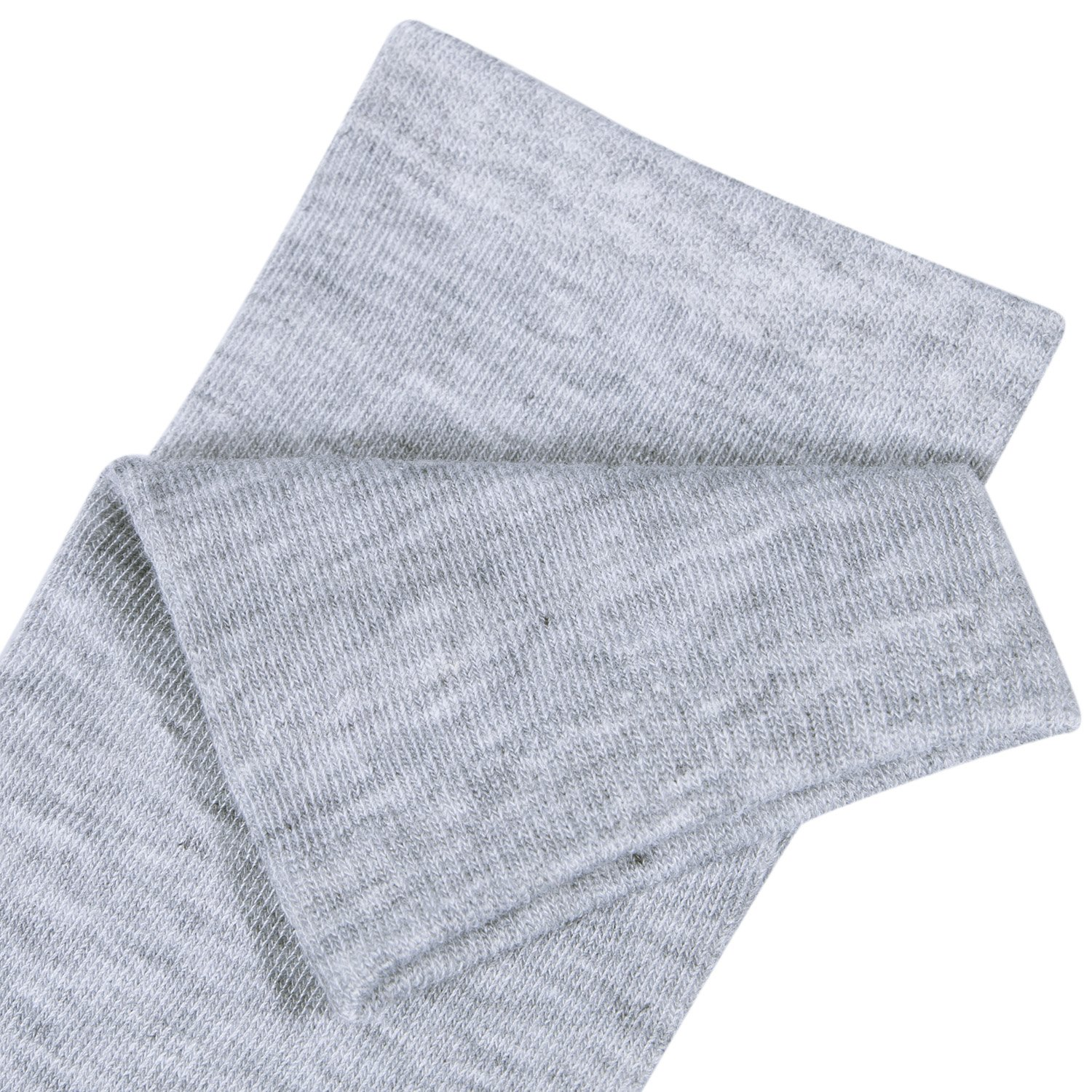 Chalier 3 Pairs Womens Long Socks Over Knee Stockings, White, Gray, Black, OS by Chalier (Image #7)