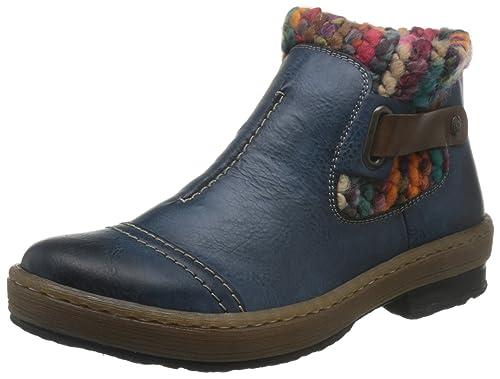 Rieker Z6784, Botines para Mujer: Rieker: Amazon.es: Zapatos y complementos