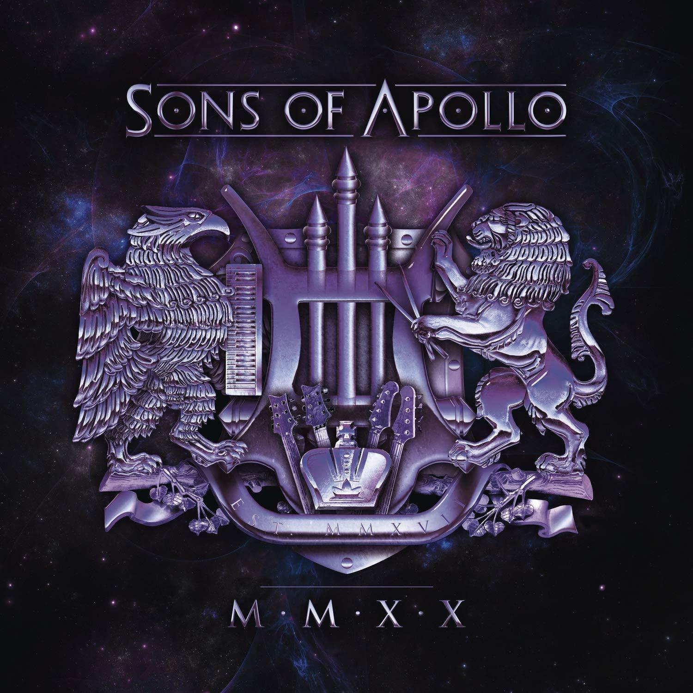 Sons of Apollo MMXX DOUBLE Gatefold Clear Transparent Sleeve LP Light Blue Vinyl