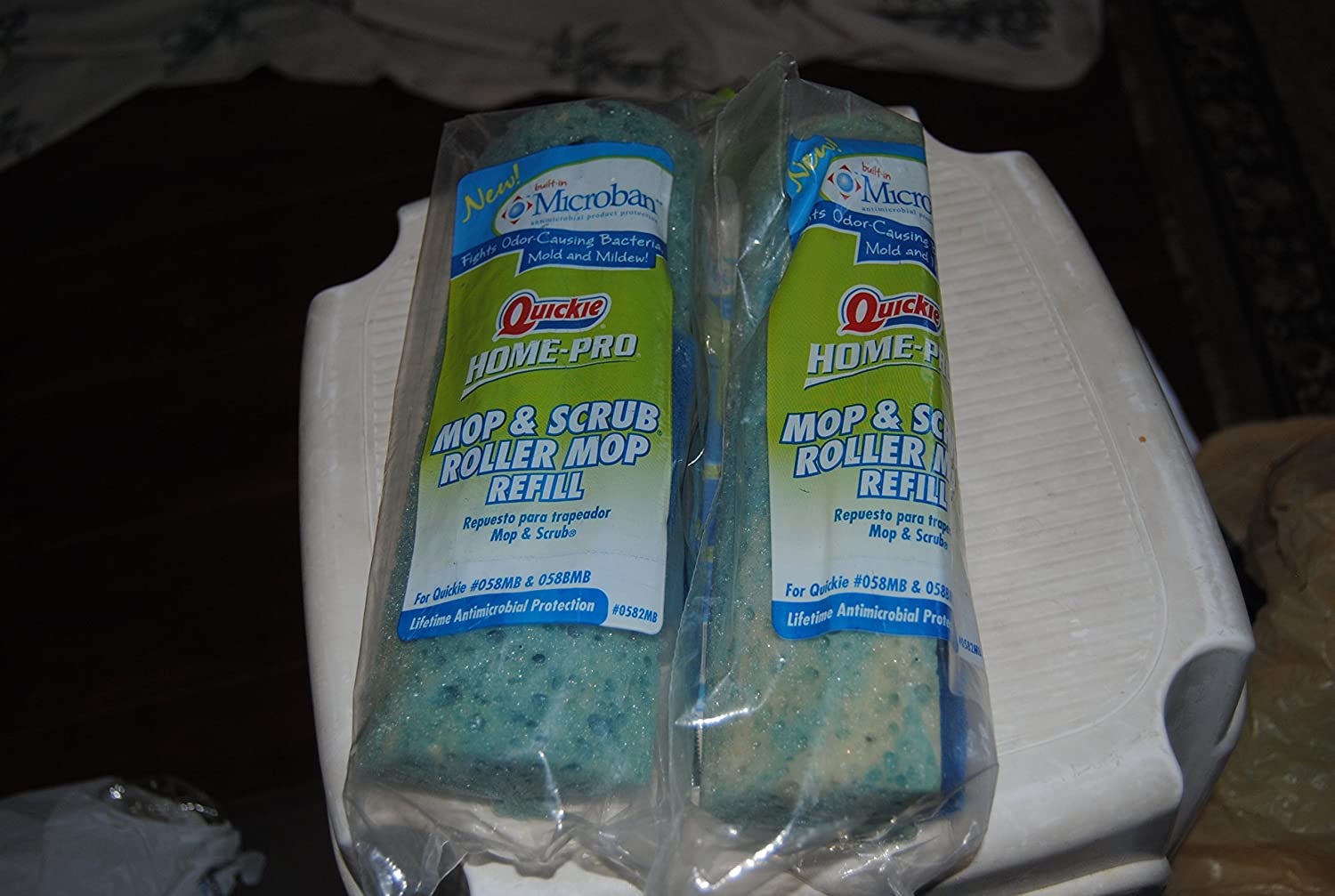 Quickie Home Pro Roller Mop Refill Polybagged Quickie Mfg Corp 0582MB