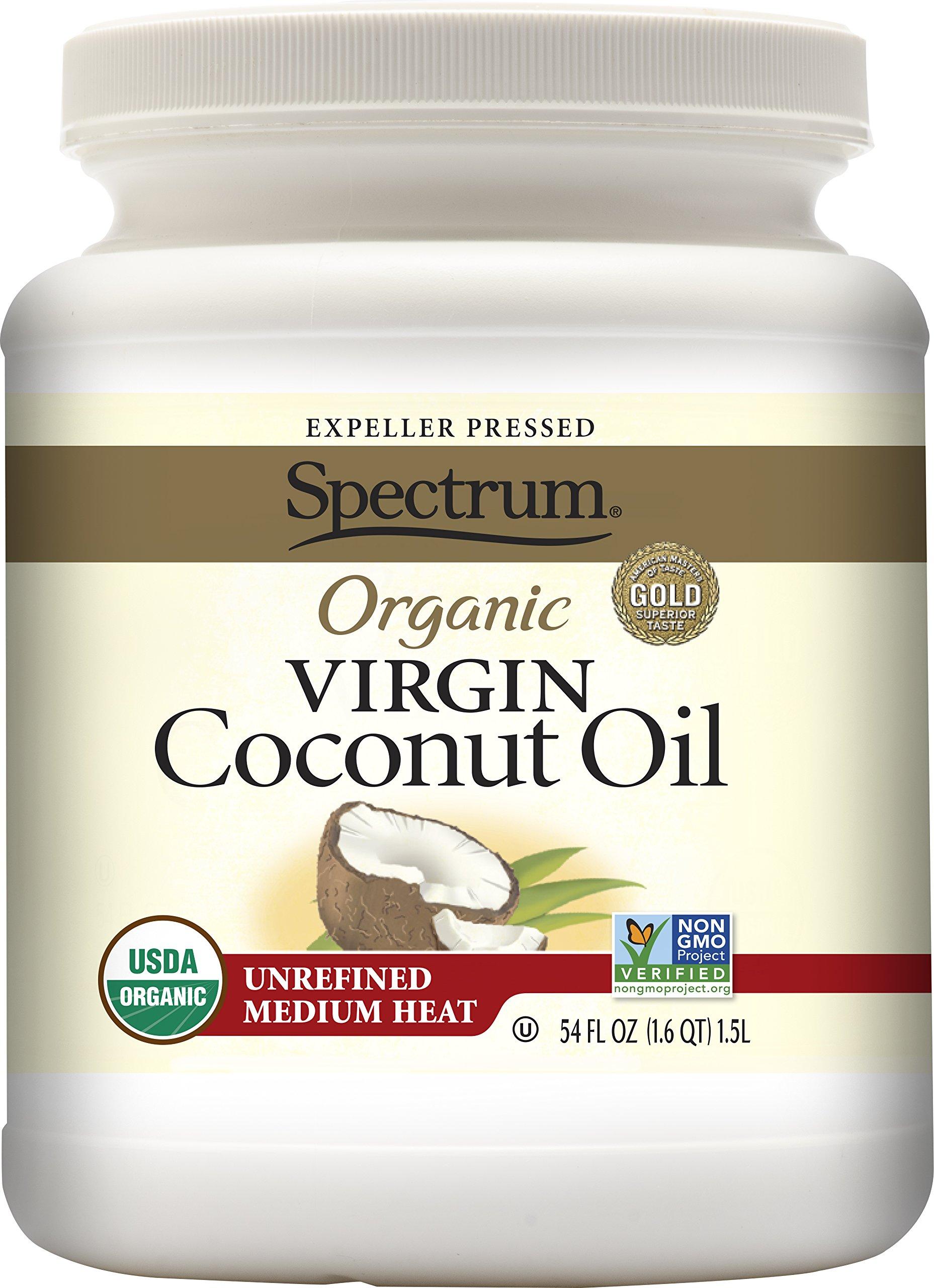 Spectrum Organic Virgin Coconut Oil Unrefined 54 Ounce 14