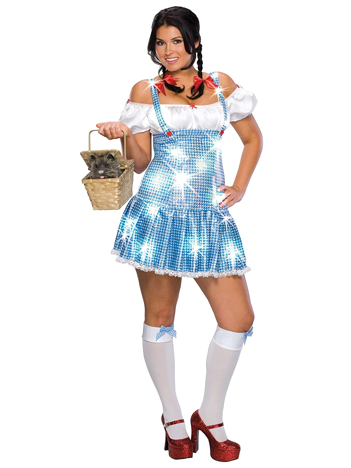Dorothy - Wizard Of Oz - Secret Wishes - Adult Fancy Dress Costume ...