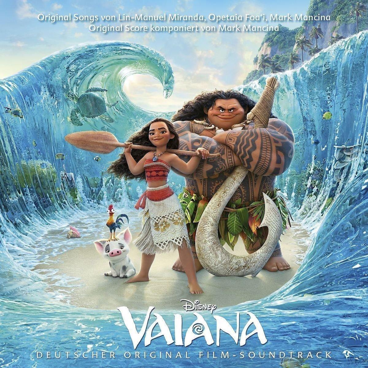 VA-Disney Vaiana Deutscher Original Film-Soundtrack-DE-CD-FLAC-2016-NBFLAC Download