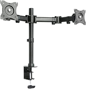 VIVO Dual Monitor Arms Fully Adjustable Desk Mount Articulating