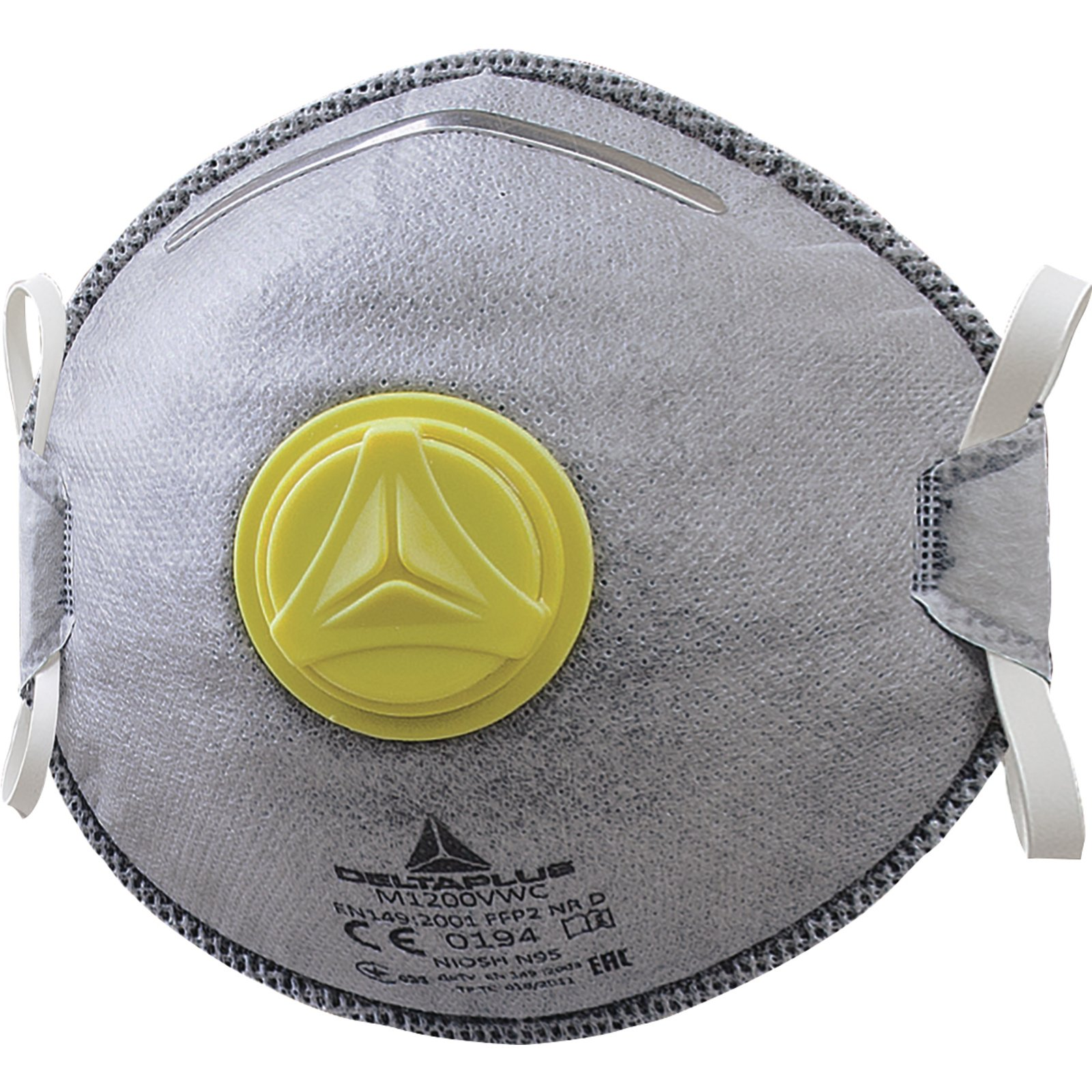 Elvex - M1200VW N95/FFP2 Disposable Respirator with valve and nuisance level OV relief