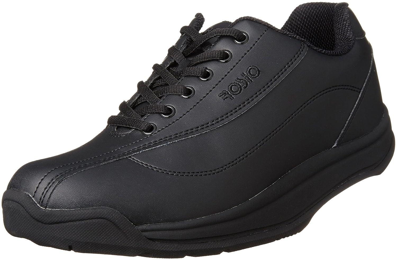 [ロシオ] かかとのないウォーキングシューズ 15度 履いて歩くだけ 健康 サイドファスナー付き RR-02 B01J0JSGCA 25.5 cm ブラック