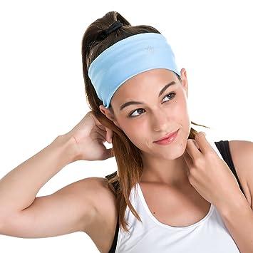 Aviva Yoga Diadema - Super cómodo, versátil, Humedad, de ...