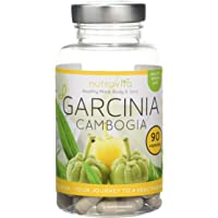Garcinia Cambogia Whole Fruit by Nutravita - UK Manufactured Supplement - Great Value - Order Today (90 x Garcinia Cambogia ) Suitable For Vegetarians