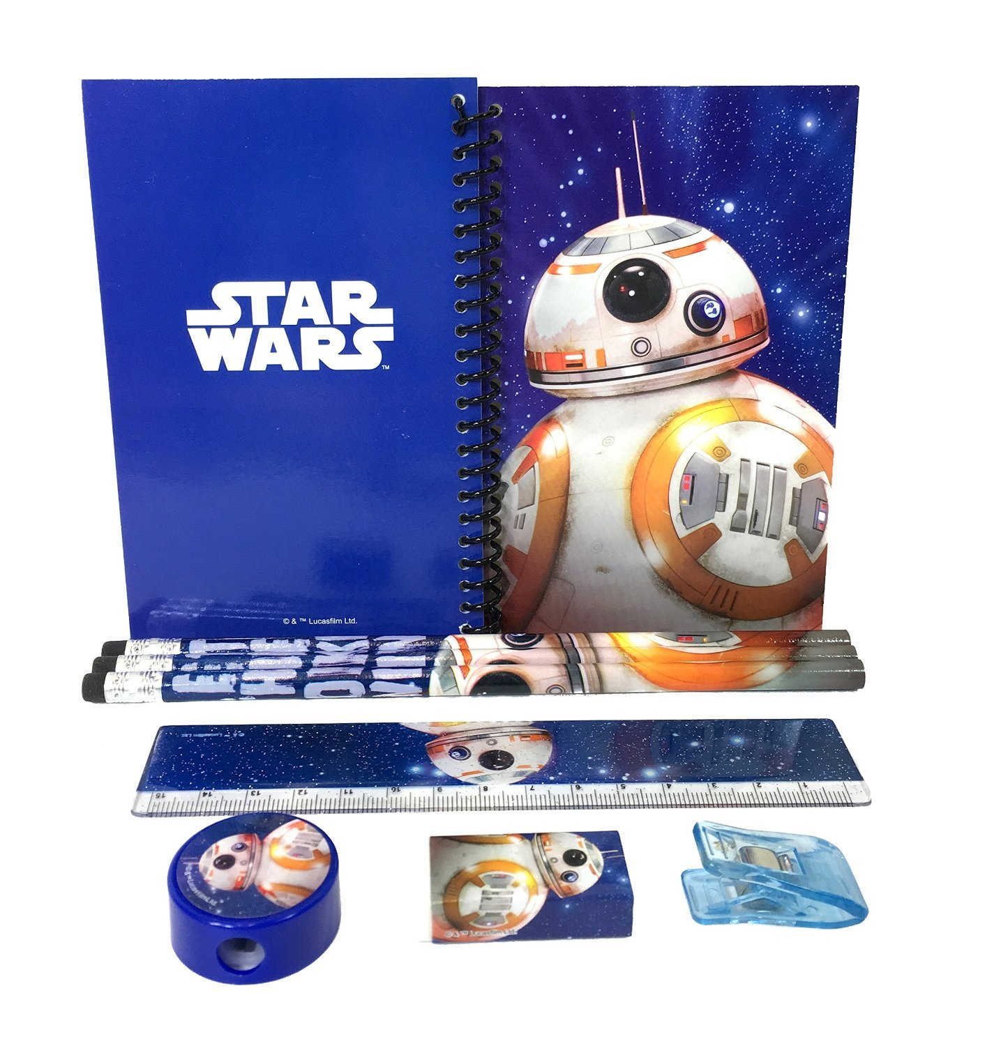 Disney Star Wars BB - 8 Stationary Set - Blue