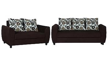 113f01009e50 MASTER KRAFT COFFEE DELTA SOFA SET (3+2) Classic Luxury Linen Furniture with