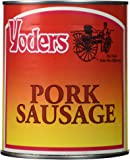 Yoders Amish Canned Pork Sausage - 28 Ounces