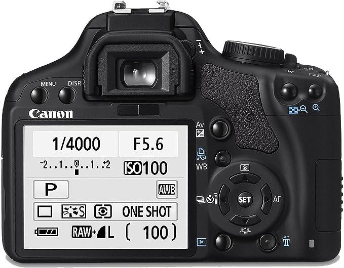 Canon EOS 450D - Cámara Réflex Digital 12.2 MP (Objetivo EF-S 18 ...