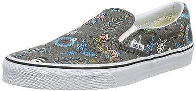 Vans Men Classic Slip-On Doren (Silver Holiday Pewter) 4c5070606