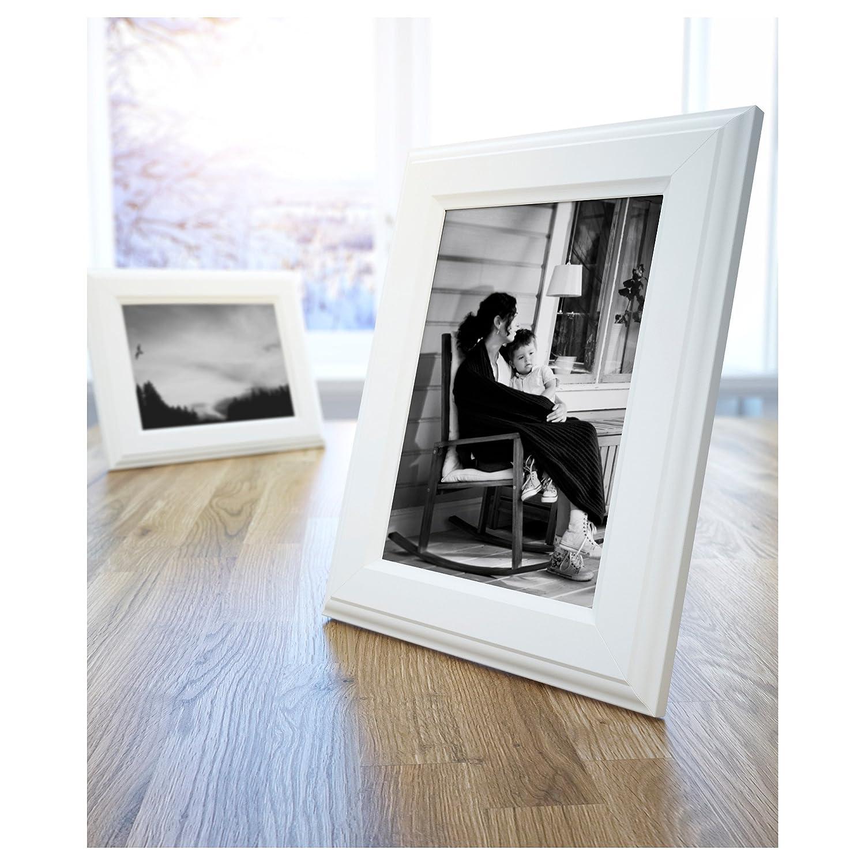 Amazon.de: Ikea Bilderrahmen Virserum Weiß, 8 X 10