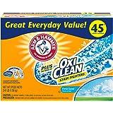 Arm & Hammer Plus OxiClean Powder Laundry Detergent, Fresh Scent, 45 Loads