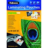 Fellowes Pouches Lucide Impress100, 100 mic, 100 Pezzi, A4