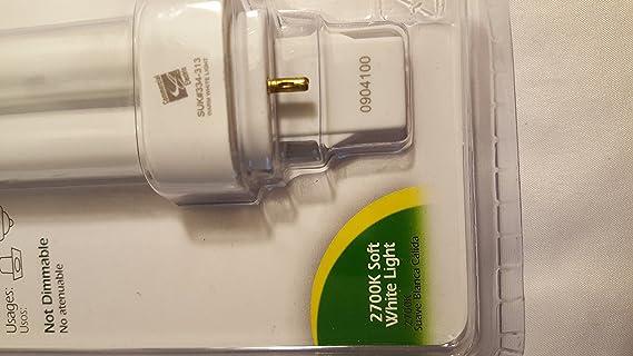Commercial Electric Compact Fluorescent 13 Watt 2-Pin Replacement Bulb - Compact Fluorescent Bulbs - Amazon.com