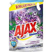 Ajax Fabuloso Multi-Purpose Cleaner Refill, Lavender Fresh, 1.4L