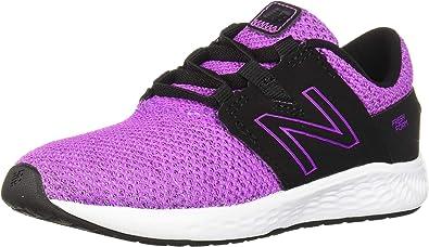 New Balance Vero Racer V1, Zapatillas para Correr para Niñas, Voltaje Violeta Negro, 30 EU: Amazon.es: Zapatos y complementos
