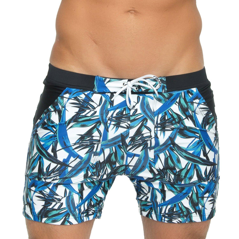 Taddlee Basic Men Swimwear Swimsuits Swim Boxer Trunks Surf Boardshorts XXL Size Foshan Xiongfeng Clothing Co. Ltd