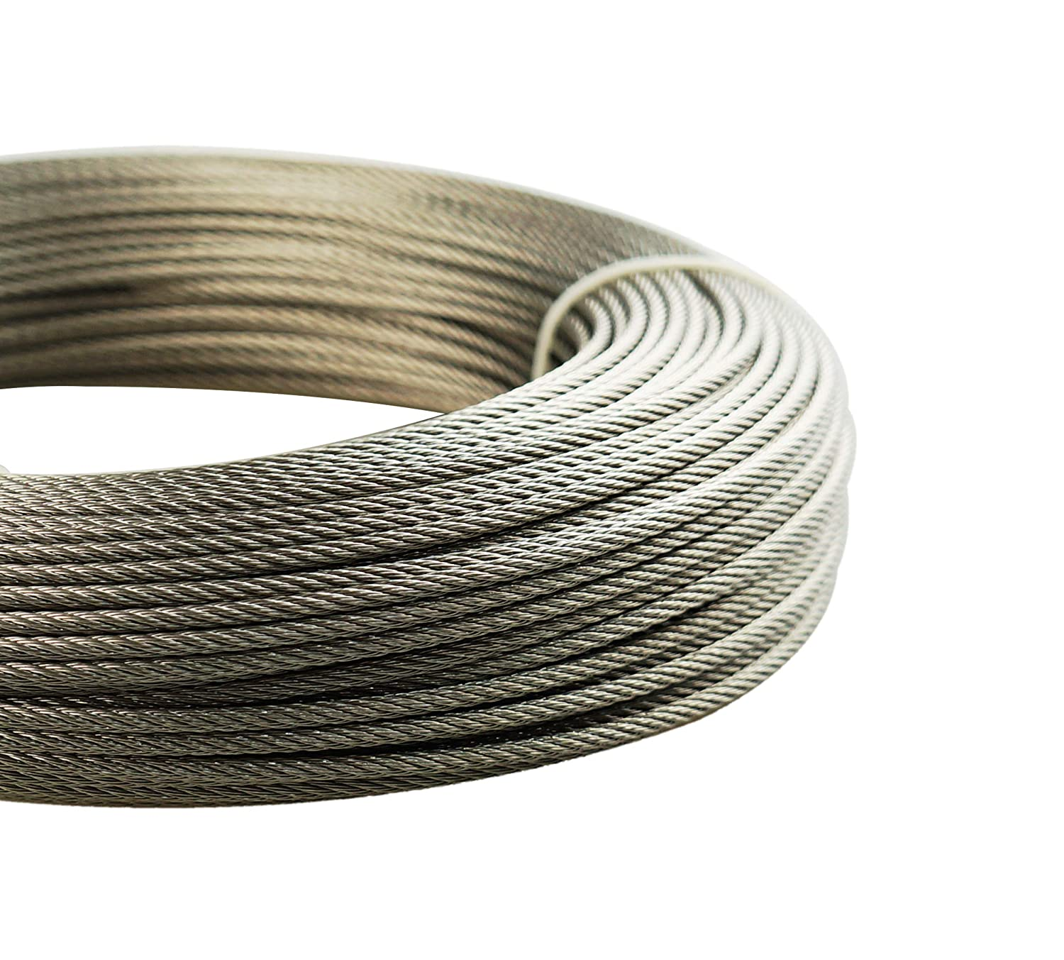 Amazon.com: Muzata Stainless Aircraft Steel Wire Rope Cable for ...