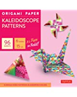 """Origami Paper - Kaleidoscope Patterns - 6"""" - 96 Sheets: Tuttle Origami Paper: High-Quality Origami Sheets Printed with 8 Different Patterns: Instructions for 7 Projects Included"""