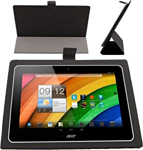 DURAGADGET Black Thin & Flexible 10.1-inch Folding Folio Case for Acer Iconia A3-A10 Tablette Tactile 10,1""