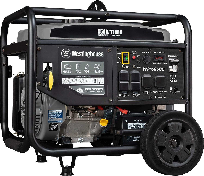 Westinghouse WPro8500 Super Duty Industrial Portable Generator