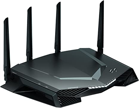 NETGEAR Nighthawk Pro Gaming XR500 WiFi Router with 4 Ethernet Ports and  Wireless speeds up to 2 6 Gbps, AC2600, Optimized for Low ping