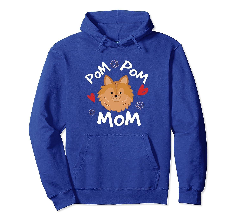 Funny Pomeranian Pom Pom Mom Hoodie Funny Gift Dog Lovers Ah My