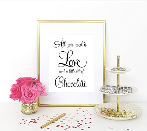 Terrific Amazon Com All You Need Is Love And Chocolate Wedding Download Free Architecture Designs Embacsunscenecom