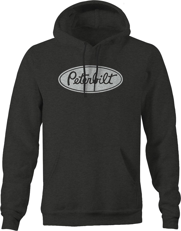 3XL Peterbilt Truck Pullover Hoodie Sweater Sz S