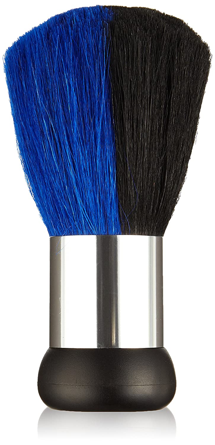 Neck Brush Silver/Black/Blue Efalock 12572
