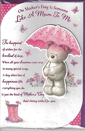 Mother/'s Day Card For A Special Mum