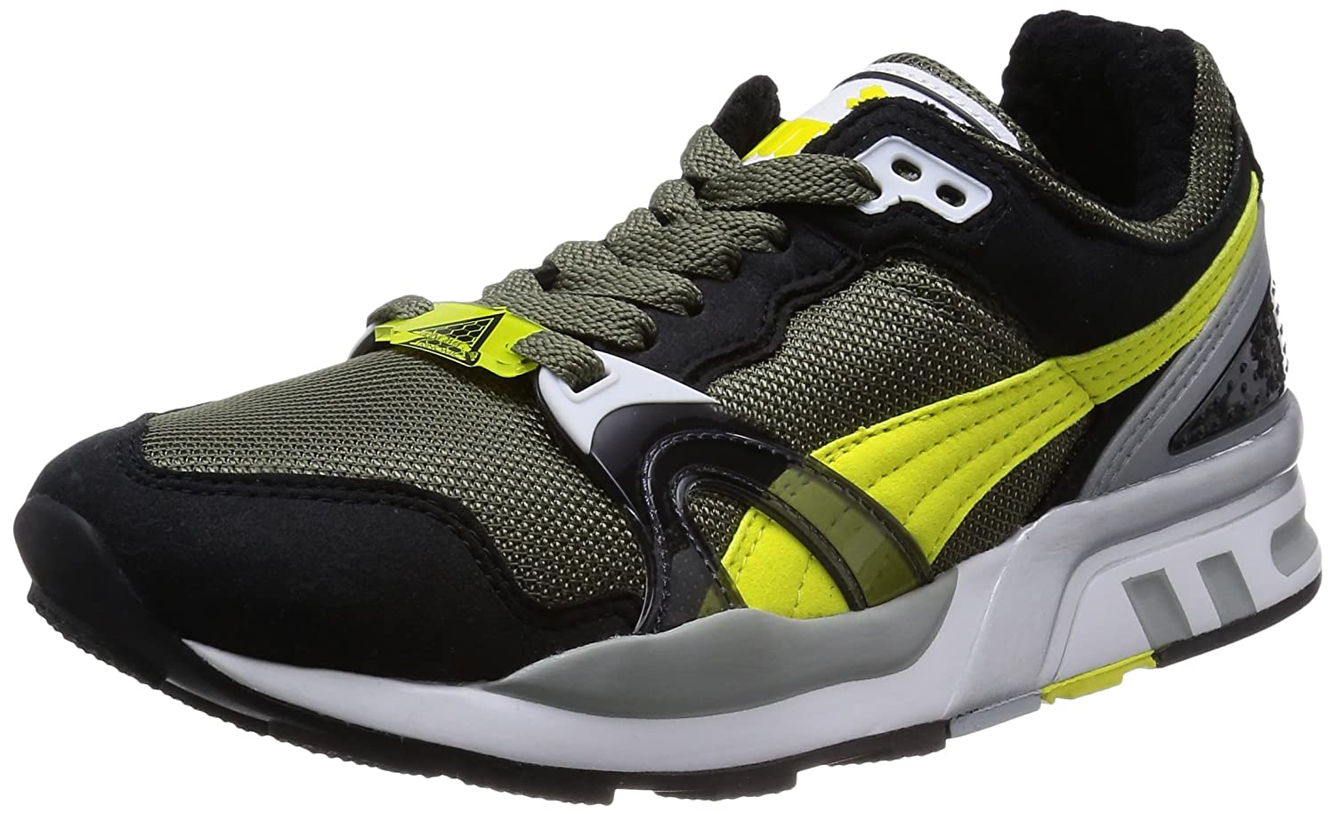 Amazon.com | Puma Mens Trinomic XT 2 PLUS, BURNT OLIVE-BLACK-CYLON YELLOW, 10.5 M US | Shoes
