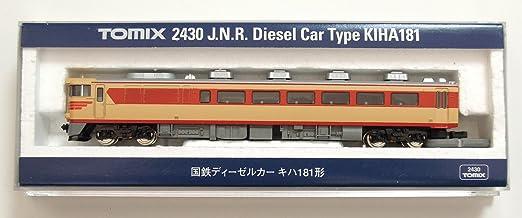 amazon nゲージ車両 キハ181 2430 鉄道模型 通販