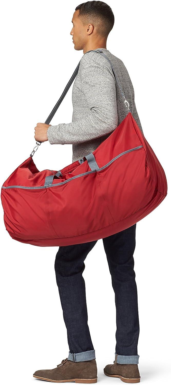 Basics Grand sac de sport//week-end en tissu souple Noir 98 l