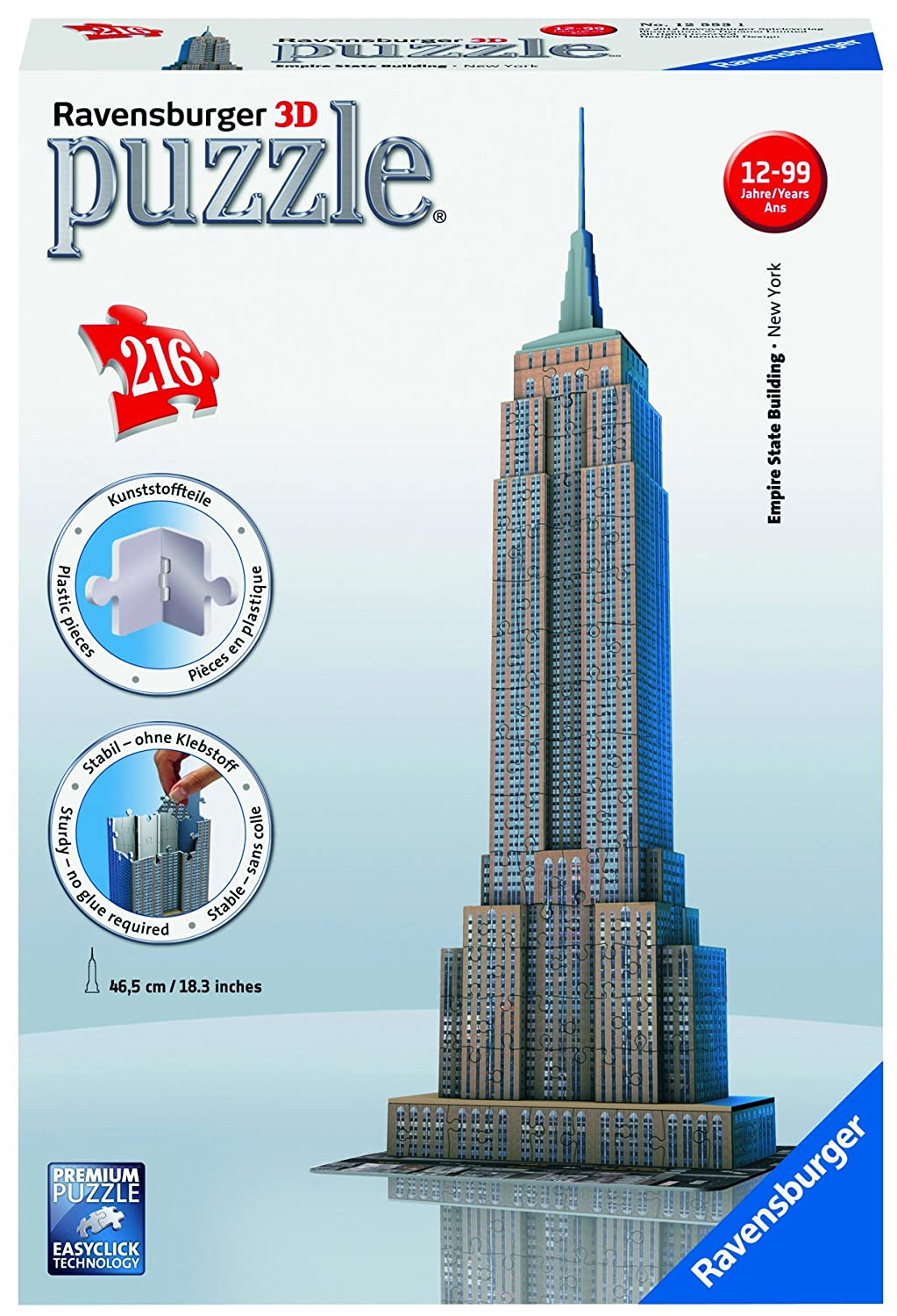 EMPIRE STATE BUILDING 216 PZ 609250